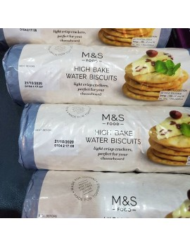 M&S HIGH BAKE WATER BISCUITS