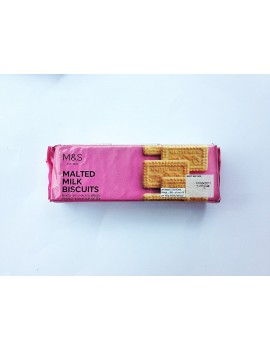M&S MALTED MILK BISCUITS