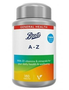 BOOTS A-Z 180 TABS