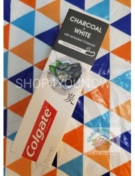 COLGATE CHARCOAL + WHITE 75ML