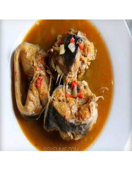 Fish Pepper Soup (catfish and croaker fish)