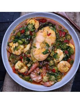 Seafood Okro