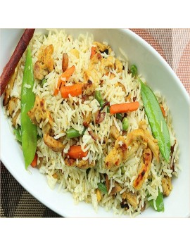 BASMATI CHICKEN FRIED RICE per portion