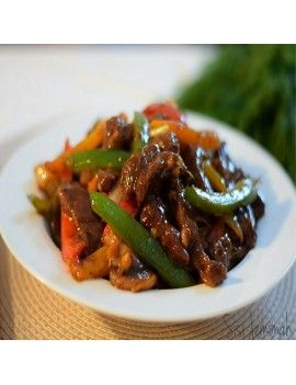 SHREDDED BEEF SAUCE per serving