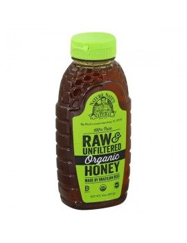 NATURES NATE'S HONEY,RAW & UNFILTERED ORGANIC HONEY