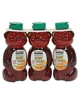 KIRKLAND SIGNATURE ORGANIC RAW HONEY(Pack of 3)