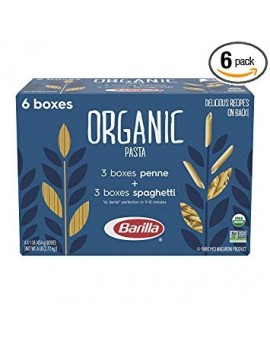 BARILLA ORGANIC PASTA pack of 6