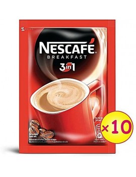NESCAFE 3 IN 1 BREAKFAST COFFEE (32g X 10)