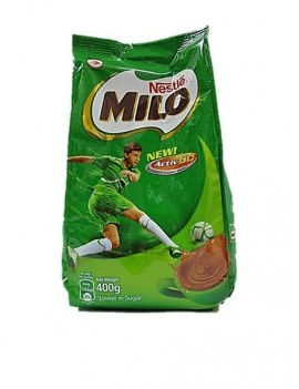 MILO – HOT CHOCOLATE 400G (REFIL)