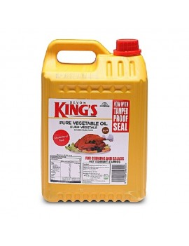 DEVON KINGS PURE VEGETABLE OIL 5LITERS