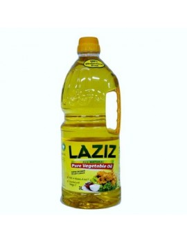 LAZIZ PURE VEGETABLE OIL 3Liters