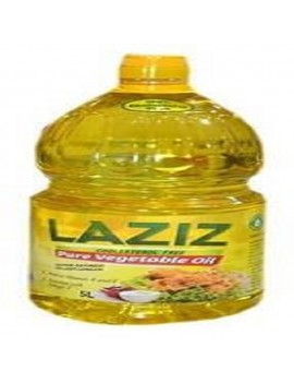 LAZIZ PURE VEGETABLE OIL 5Liters