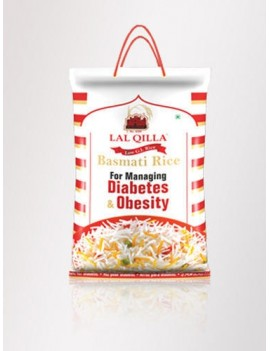 LAL QUILLA BASMATI RICE SUITABLE FOR DIABETES AND OBESITY (5KG)
