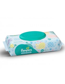 PAMPERS BABY WIPE (64PCS)