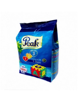 PEAK 123 GROWING UP MILK POWDER 400G(REFIL)
