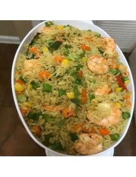 Basmati fried rice + Coleslaw + 1 Beef