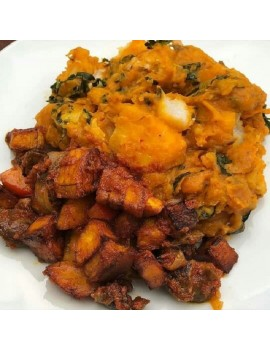 Yam Porridge + 1 ice fish