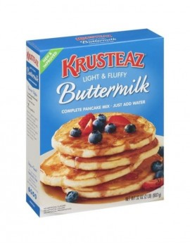 KRUSTEAZ BUTTERMILK PANCAKE...