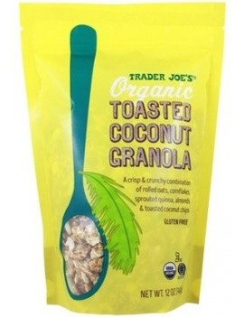 ORGANIC TOASTED COCONUT...