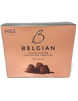 M&S BELGIAN COCOA DUSTED CHOCOLATE TRUFFLES