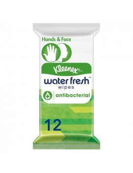 KLEENEX WATER FRESH WIPES