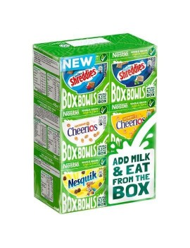 NESTLE BOX BOWLS CEREALS 6...